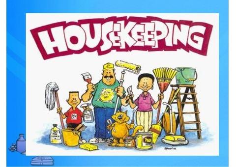 HOUSEKEEPING  JOB VACANCY