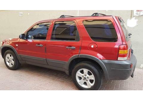 Ford Escape 2007 - Automatic (RED) ; Dubai RTA Pass|Price: AED 11,000|