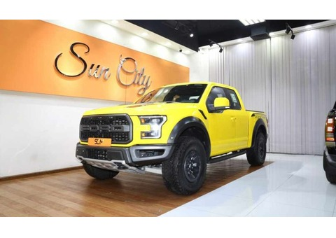 FORD RAPTOR SUPER CAB (Yellow)