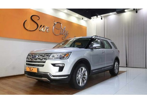FORD EXPLORER LIMITED 4WD (Silver)