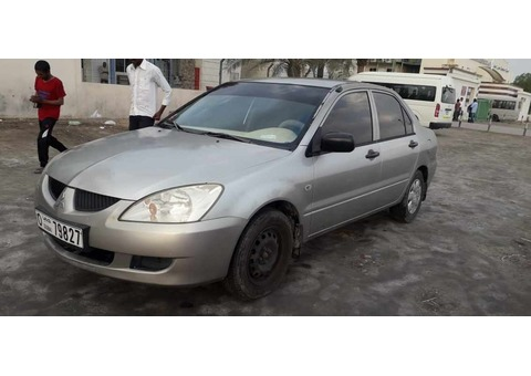 I want to sale my car mitsubishi lancer 2006 model