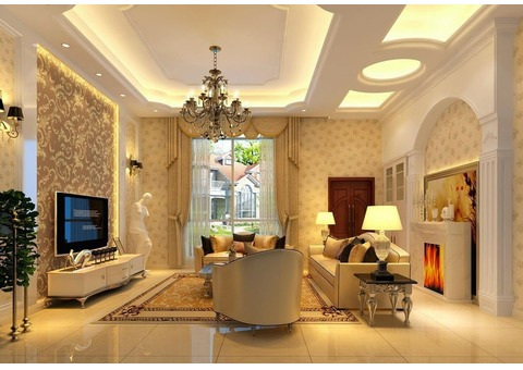 Partition, Internal designing, contracting & painting
