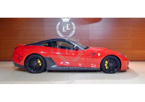 2011 FERRARI 599 GTO,GCC SPECS,FULL SERVICE HISTORY