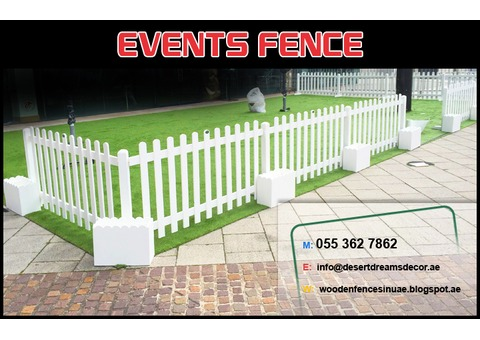 Kids Play Area Privacy Fences   Events Fences Dubai   Garden Fence Dubai.