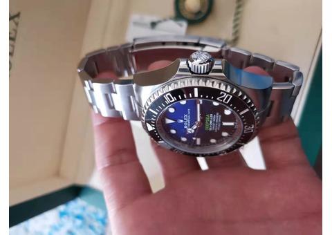 rolex sport watch 126660 D-blue brand new