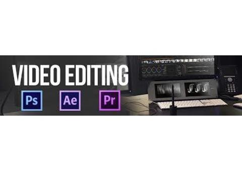 Video editing classes at vision institute call 0509249945