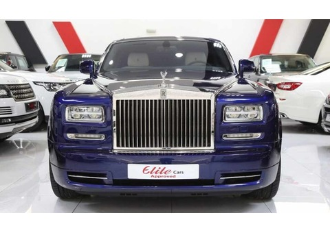 ROLLS ROYCE PHANTOM 2016 (Blue)
