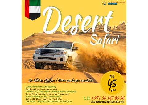 Desert Safari - AED 45 Only