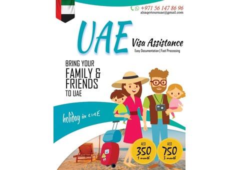 UAE Visit Visa - AED 350