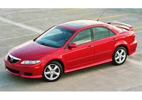 Mazda 6, 2006, Red, for sale