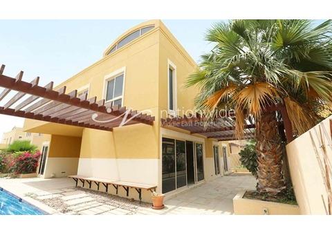 Exquisite Type A Villa In Yasmina Community