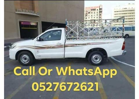 Pickup truck rent service