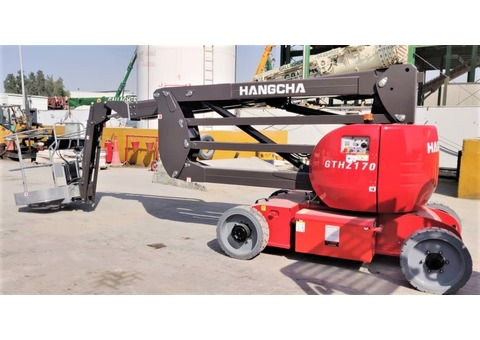 NEW ARTICULATED BOOM LIFT OF 17M