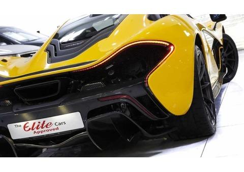 MCLAREN P1 SUPER CAR COUPE 2015 (Yellow)