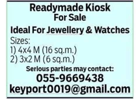 Ready Made KIOSK for Sale
