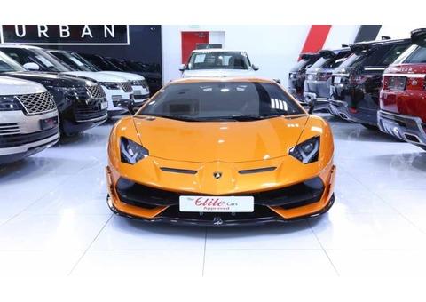 LAMBORGHINI AVENTADOR SVJ-1 di 900 2020 (Orange)
