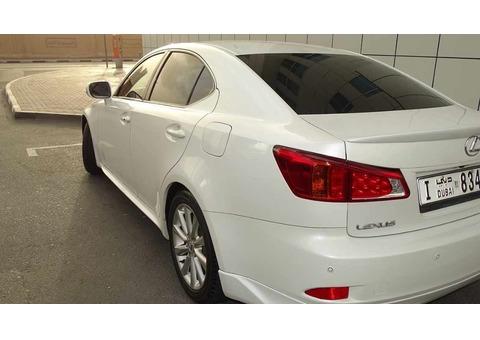 Lexus IS 300, 2009 , Al Futtaim model Full Option with F-KIT, no accident
