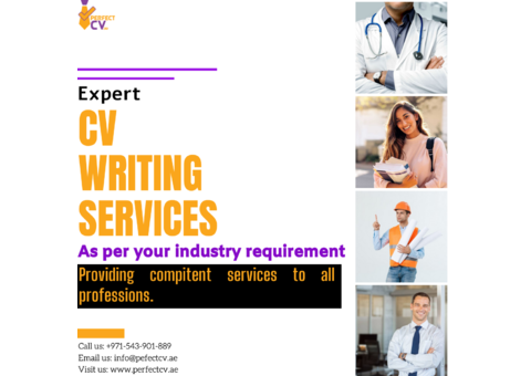 Expert Cv writing services with industry based templates