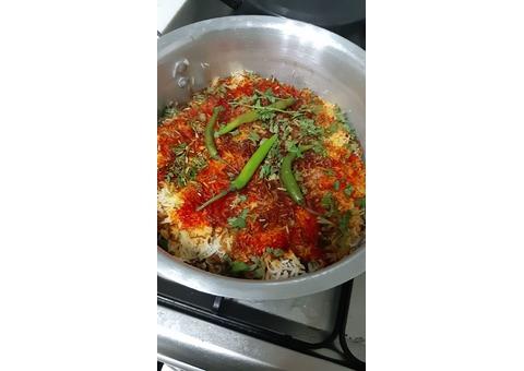 Pakistani/Indian homemade food