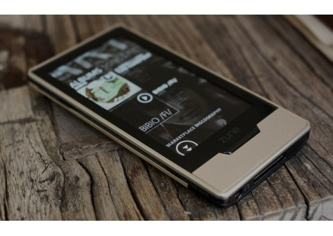 Microsoft Zune HD music mp3 player