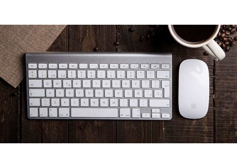 Apple Magic Mouse with Magic keyboard