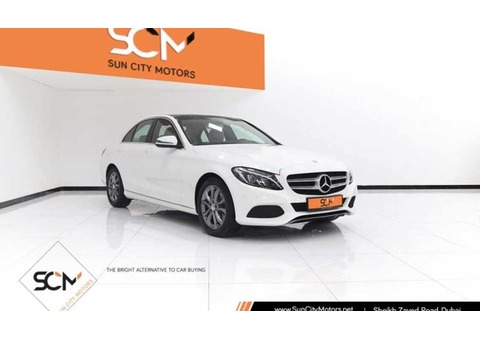MERCEDES C200 2.0L 4CYL TURBO (White)