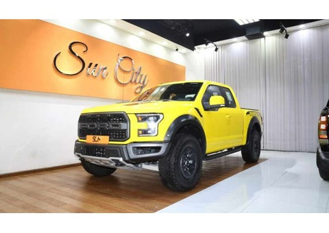 FORD SVT RAPTOR SUPER CAB (Yellow)