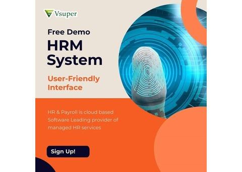 VSUPERHR-Human Resource Management System