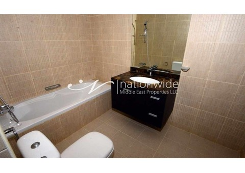 Smart 2 BR with Balcony For Three Cheques