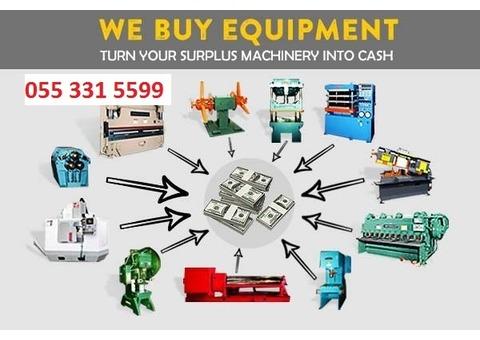 We Buy All Used Machines for Metal Fabrication, Steel Workshop