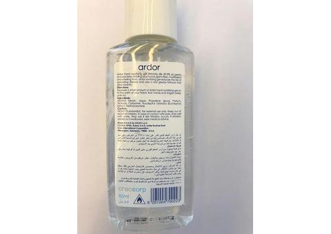 85 ml Ardor Hand Sanitizing Gel