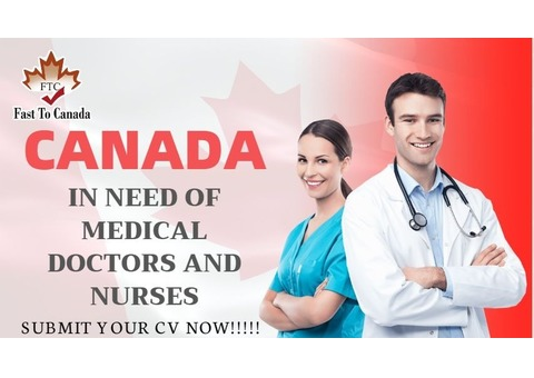 GOLDEN OPPORTUNITY FOR MEDICAL WORKERS