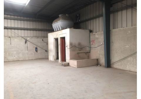 Warehouse for Rent 11,500 Sq.ft