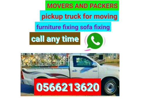 120 pick up rent for moving furniture fixing