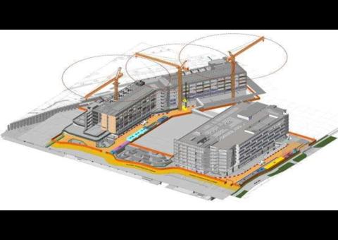 BIM Models for Architecture, Civil, Structure, MEP, Fire Fighting LOD 300, 350, 400, 500, 4D, 5D