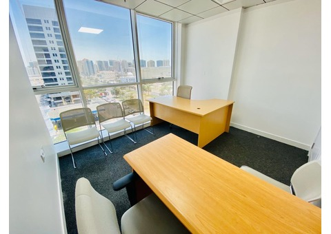 A Good Quality Furnished Office in Madinat Zayed Tower