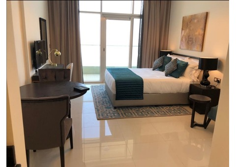 Fully furnished apartments - for rent, on a monthly basis in Dubai