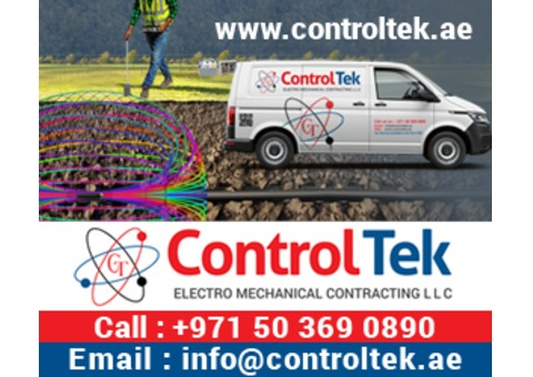 Underground electrical cable fault finding and repairing services