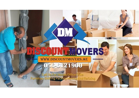 Discount packers and movers in Al Qusais 0566121900