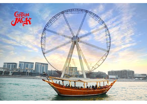 Captain Jack Dhow Cruise with 50% discount