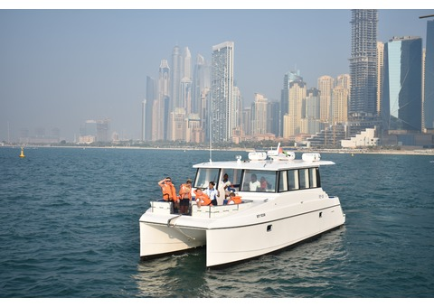 2hrs.20mins  Burj Al Arab Catamaran Sharing Cruise