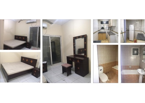 Furnished Room For Rent at Monthly Base