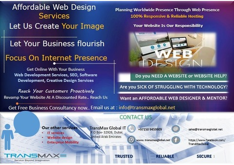 Web Development Services By TransMax