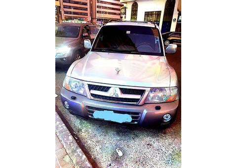 MITSUBISHI PAJERO MODEL 2006 AVAILABLE FOR ONE RENT FOR COMPANIES