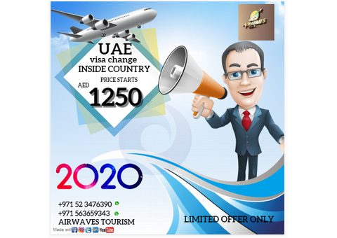 VISIT VISA INSIDE UAE ABVAILABLE
