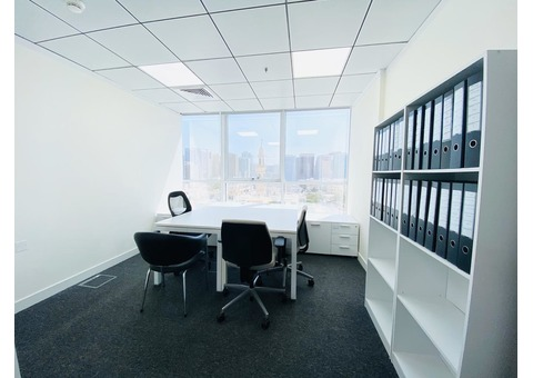 High Quality Furnished Offices in Madinat Zayed Tower