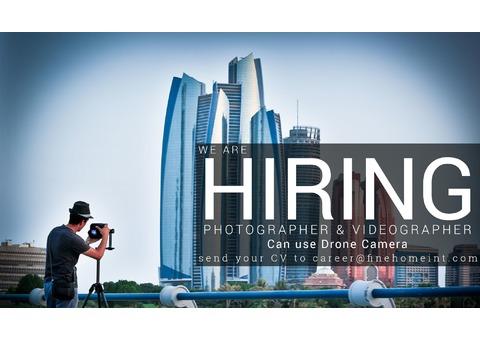Urgent hiring Filipino Photographer in Abu Dhabi