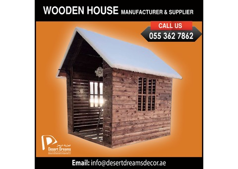 Wooden Dog and Cat House Suppliers in Uae | Wooden Tree House Suppliers.