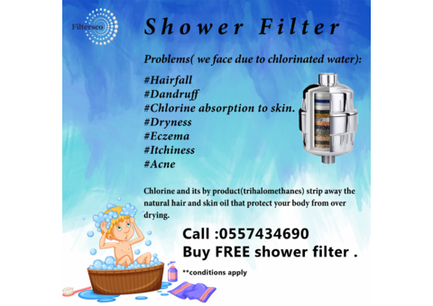 INSTALL RO WATER FILTER AT 0% DOWN PAYMENT & INSTALLMENTS FREE SHOWER FILTER