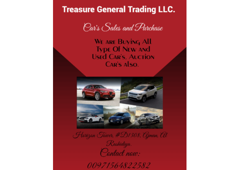 Cars Sale and Purchase